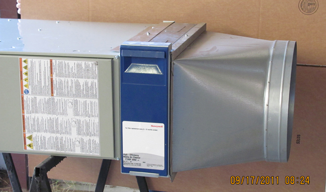 Return Air Handler Plenum Box on residential hvac plenum
